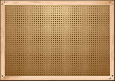 Stecktafel Werkstatt Hintergrund Illustration Standard-Bild - 35517122