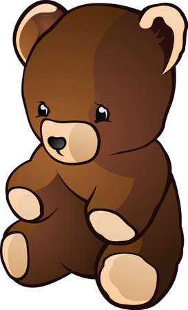 cute teddy bear: Teddy Bear Cartoon Character