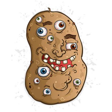 A Disturbing Potato Covered in Squishy Wet Eyeballs