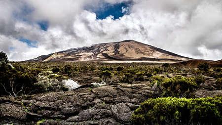 furnace: Photo of the Piton de la Fournaise, Reunion Island