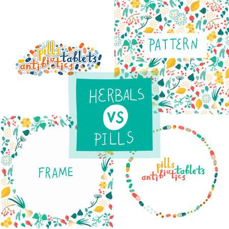 Tablets vs herbal alternative medicine