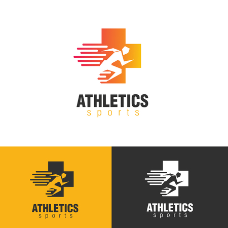 Modern Clean Minimal Athletic Sports Medicine Symbol