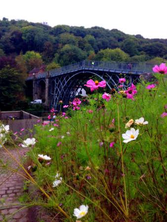 eyesore: The iron bridge at Ironbridge, England.