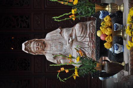 Buddist statue in Hanoi, Vietnam