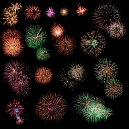 pack of firework Stock Photo - 20308779