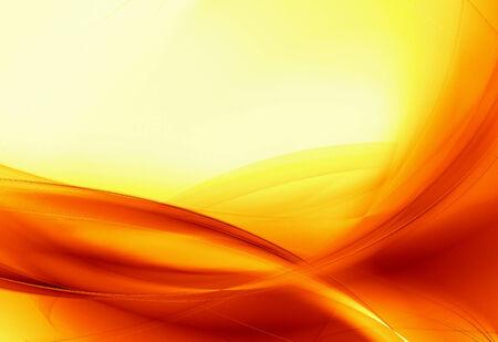 dynamic heat black: Hot orange flow background Stock Photo
