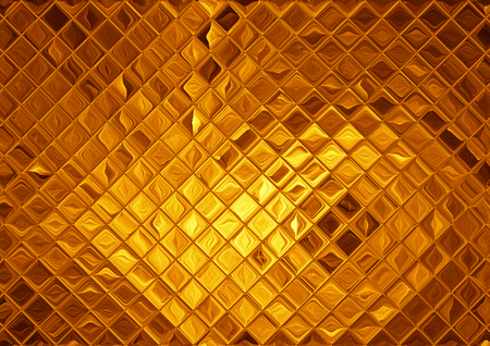 Luxury golden mosaic, abstract gold background 版權商用圖片