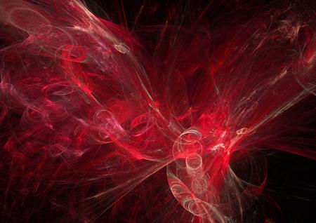 ave fenix: Fondo rojo caliente en la forma del ave f�nix abstracto o �guila Foto de archivo