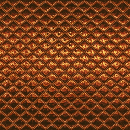 metalic: Luxury orange metalic copper mosaic Stock Photo
