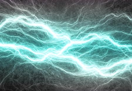Cyan elektrische Beleuchtung, elektrische abstrakte Hintergrund Standard-Bild - 38769502