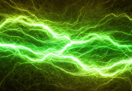 electrical: Green electrical background,abstract electrical background Stock Photo