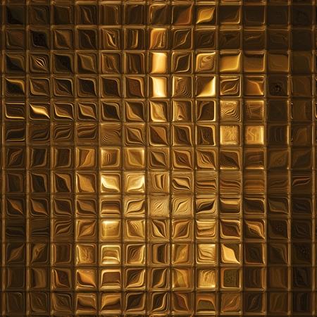 Luxury golden mosaic, gold background