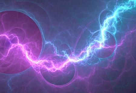 rayo electrico: Rayo eléctrico - fondo abstracto eléctrica