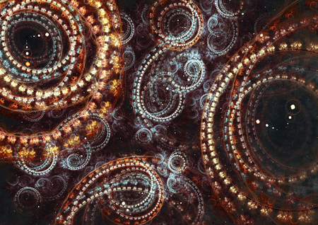 steampunk: Abstract steampunk cogwheel background