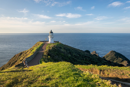 Cape Reinga lighthouse, most northern point of New Zealand