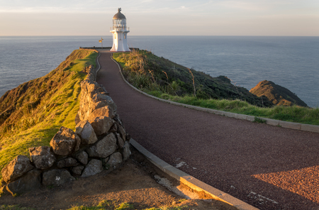 reinga: Cape Reinga lighthouse, most northern point of New Zealand