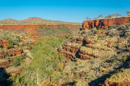 Gorge in  Karijini national park, Western Australia Stock Photo