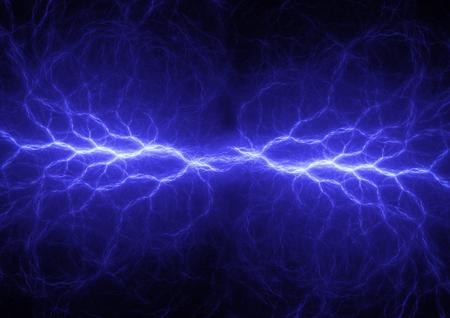 electric blue: Fantasy blue lightning, electric power