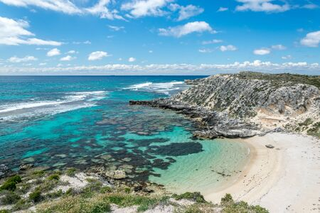 Rottnest Island beach, Western Australia Stock Photo