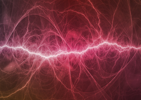 cold fusion: Purple lightning, abstract plasma background