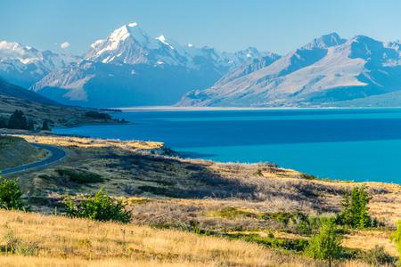 Monte Cook, la montagna più alta della Nuova Zelanda Archivio Fotografico - 79613375