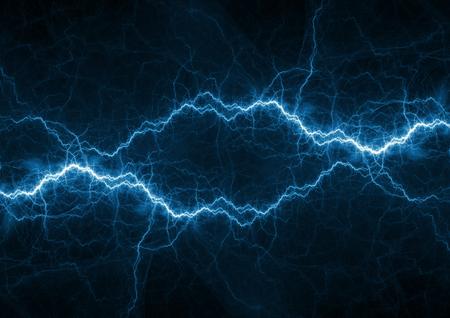 Blauwe plasma-, kracht- en energieachtergrond
