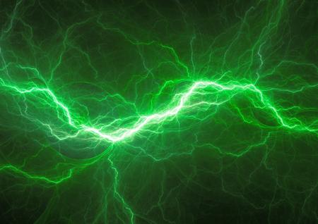 Green energy, plasma electrical power backgrund Standard-Bild