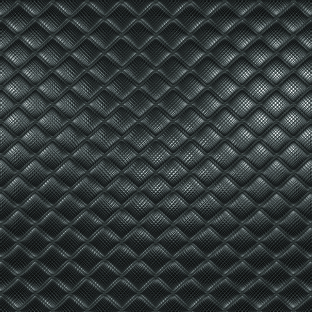 Silver mosaic, dark metallic background texture