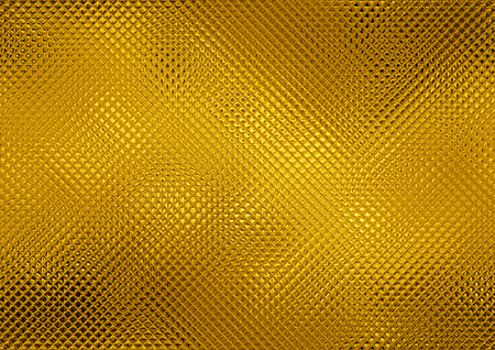 Golden glass mosaic, abstract gold tile background