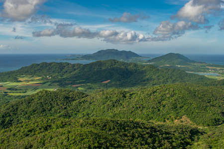 Beautiful landscape of the Ishigaki Island, Okinawa, Japan