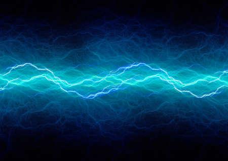 Blue lighting, abstract plasma background