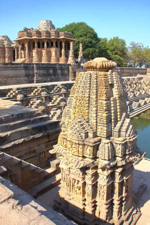 MODHERA, GUJARAT, INDIA: The Sun Temple