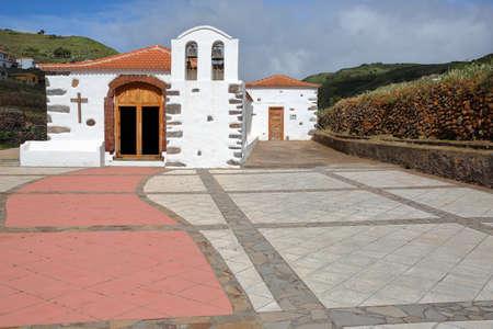 ARURE, LA GOMERA, SPAIN: Chapel of Virgen de la Salud