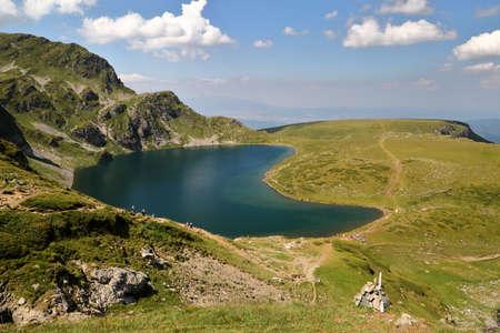 RILA MOUNTAINS, BULGARIA: The Seven Lakes Stock Photo