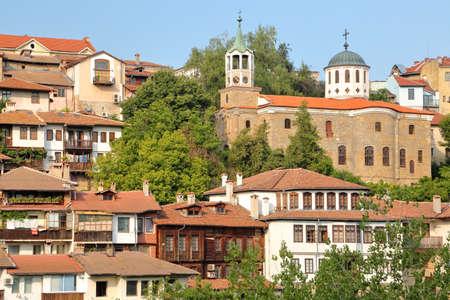 VELIKO TARNOVO, BULGARIA: The Old town with medieval houses