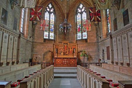 ノリッチ、イギリス - 2017 年 6 月 5 日: 聖救い主のチャペル、大聖堂の内部