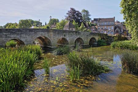 The Old Town Bridge on the river Avon in Bradford on Avon, UK Stock Photo
