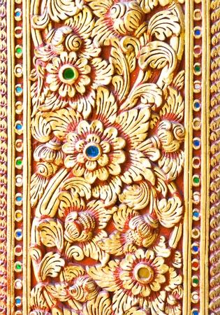 thai carving  photo