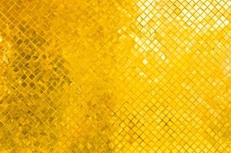golden wall brick of thai temple Stock Photo - 15231785