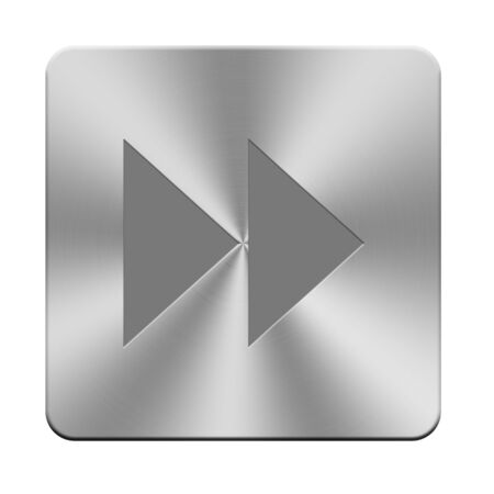 Stereo aluminium buttons, sound buttons Banco de Imagens