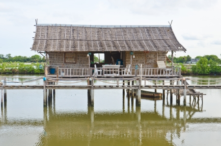 Tradition Thai hut on countryside Stock Photo - 20178321