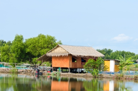Tradition Thai hut on countryside Stock Photo - 20178326