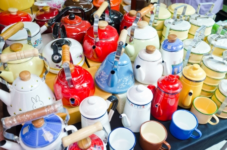tiffin: Kettles and tiffin carrier for sell in the market