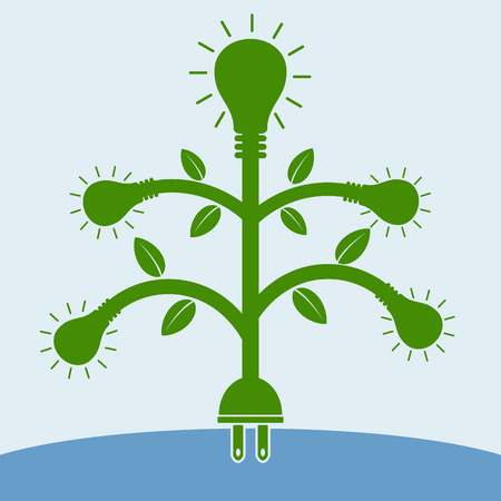 natural resource: Bulb tree and Plug root, Concept : natural resource give many things