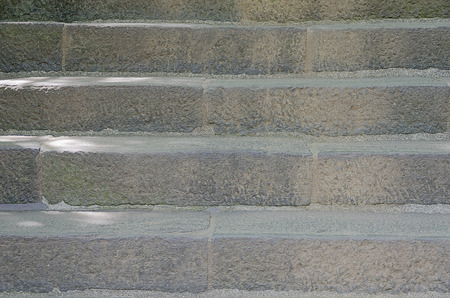 Pattern or texture of old concrete stairs Banco de Imagens