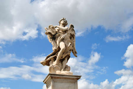 Angeli: Statua Stock Photo