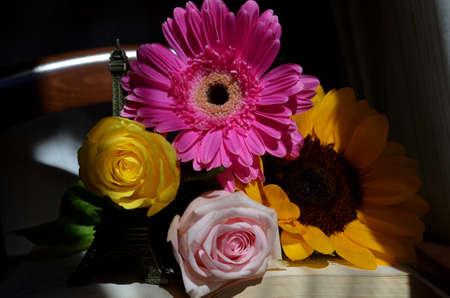 penumbra: Flowers Stock Photo