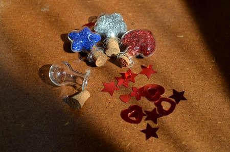 ampoules: Ampoules magic Stock Photo