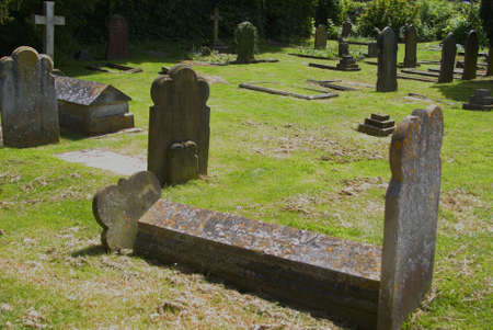 west sussex: Medieval English Cemetery in Crawley West Sussex