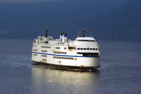 Large Ferry in the Pacific Northwest Horsehoe Bay Vancouver British Columbia photo